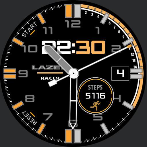 Lazer  Racer Orange RC3