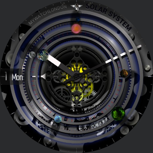 MYWATCH- SOLAR SYSTEM
