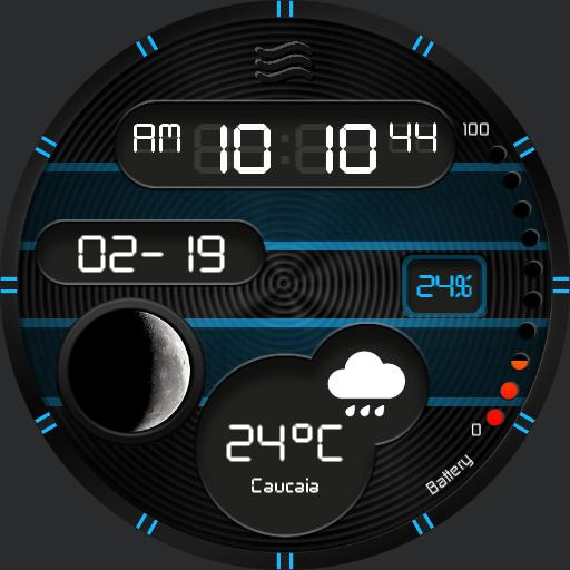 OCEAN DUST Watch Face