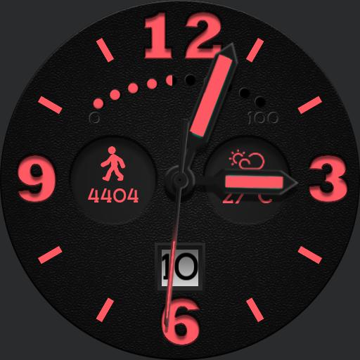 BRN-1589 Watch Face