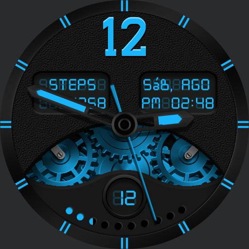CHROMA BLACK Watch Face