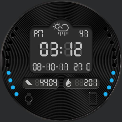 NIGHT WINDS Watch Face