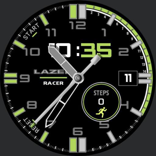 Lazer  Racer Green rcL
