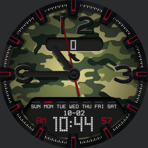 CAMOUFLAGE v2 Watch Face