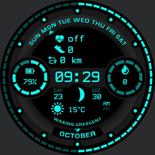 CELESTIAL v2 Watch Face