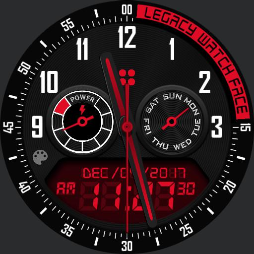 LEGACY v2 Watch Face
