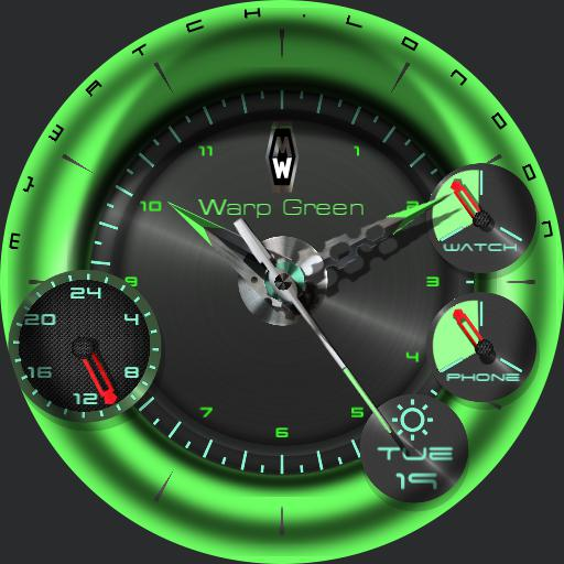 Warp Green