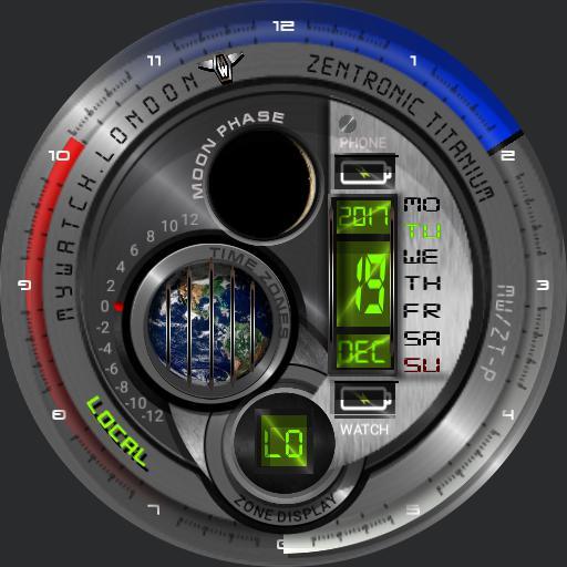 MyWatch-Zentronic Titanium