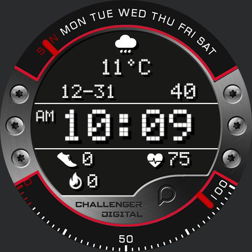 CHALLENGER DIGITAL Watch Face