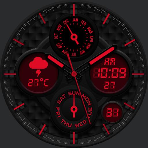 DARK COLORS v2 Watch Face