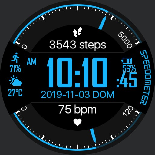 SPEEDOMETER Watch Face