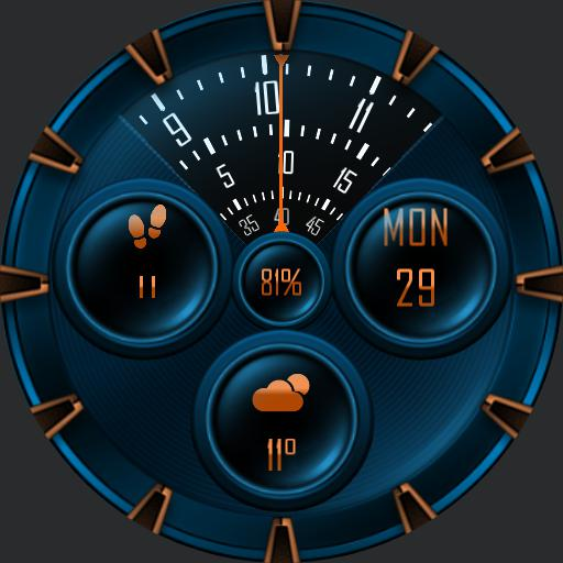 THESEUS ROTATE v2 Watch Face
