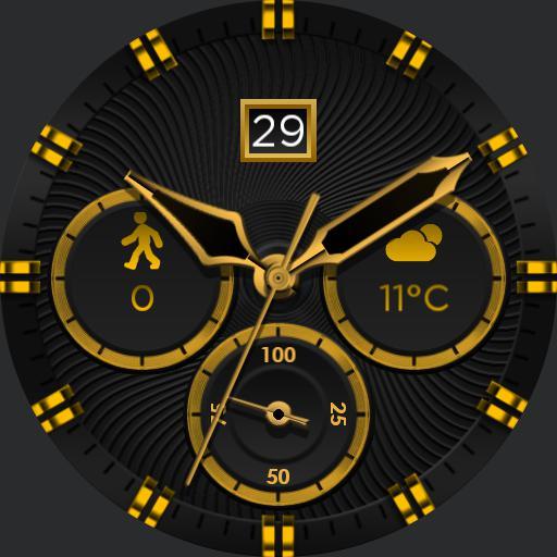 BLACK GOLD v3 Watch Face