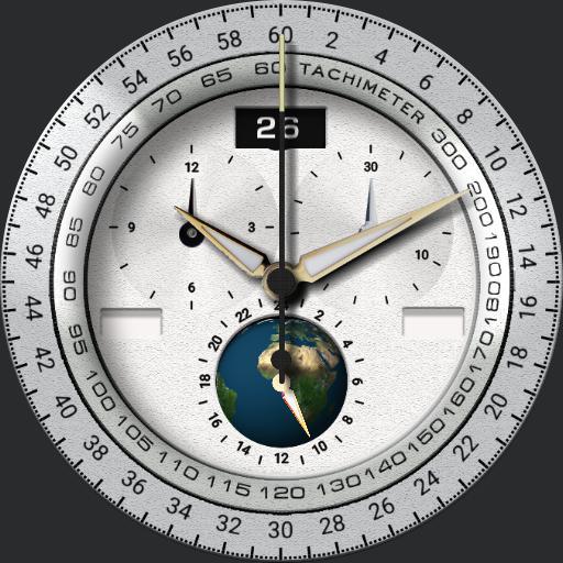 White Chronograph VI