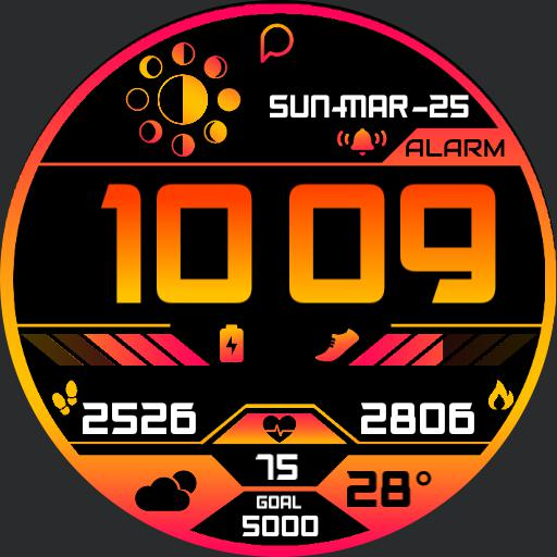 VORTEX Watch Face