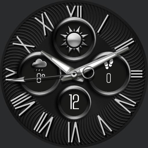 FORECAST 4 Watch Face