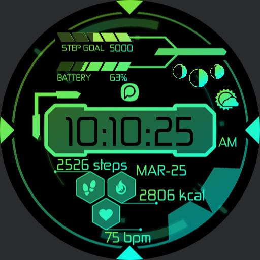 OBLIVE DARK  2 Watch Face