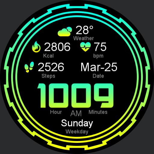 ELETRIC Watch Face