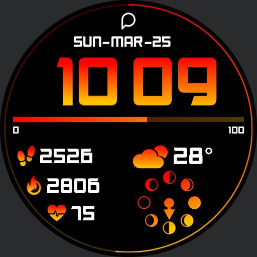 GRADIENT DIGITAL Watch Face