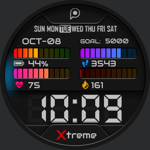 XTREME DIGITAL 2 Watch Face