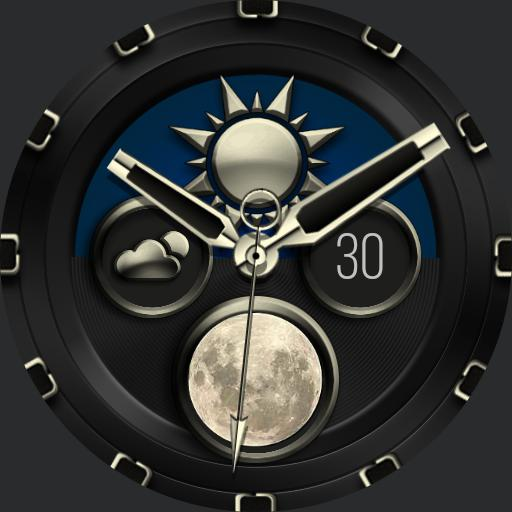 SUN and MOON Watch Face