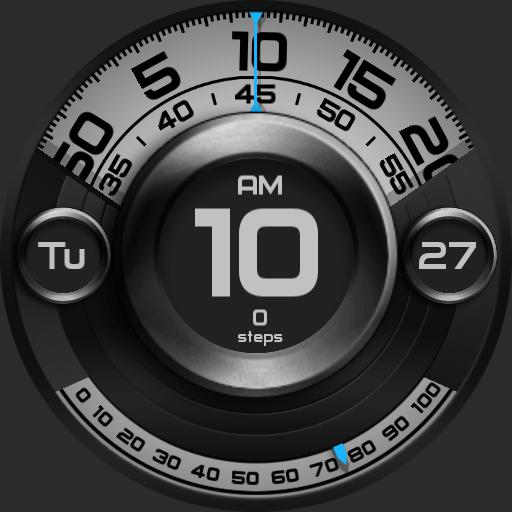 MECHANICAL ROTATION Watch Face
