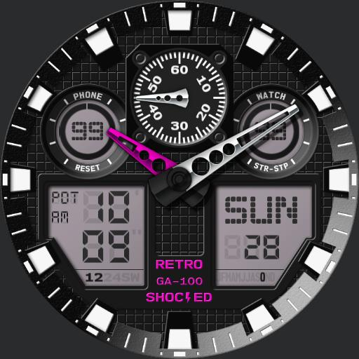 RETRO Shocked GA100-TE