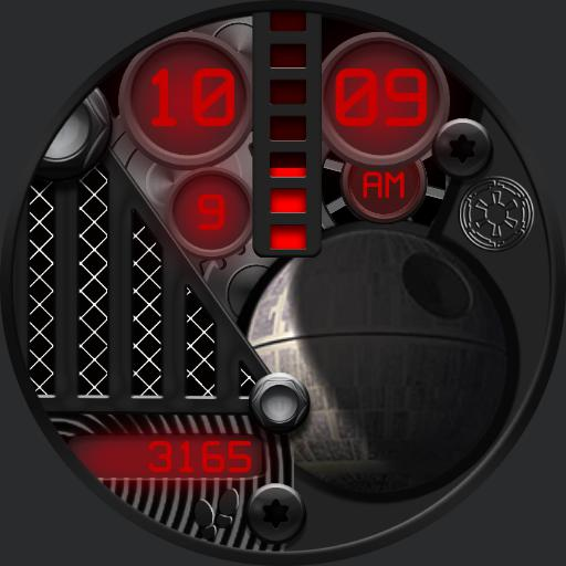 DARK STAR Watch Face
