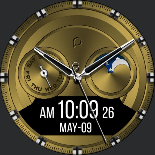GOLD TIME Watch Face