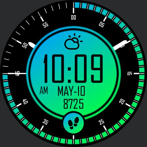 GRADIENT 2 Watch Face