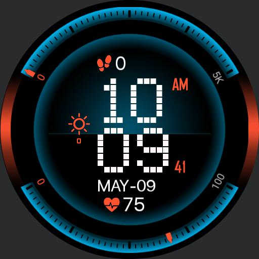 SPEEDOMETER TECH Watch Face