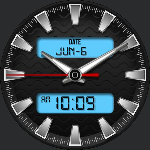 WAVES 2 Watch Face
