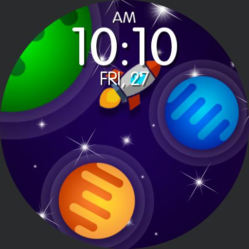 LOST IN SPACE Watch Face