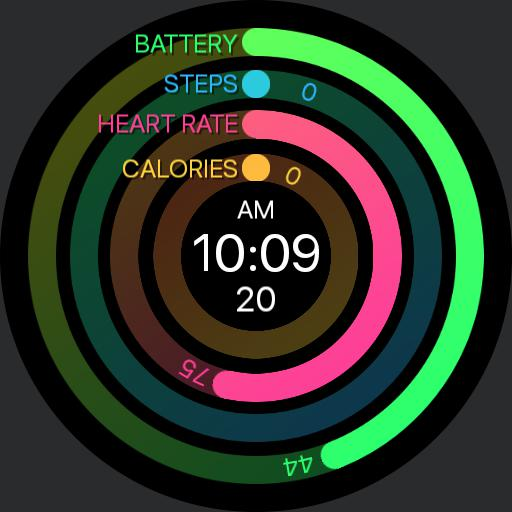 PRD Fit 3 Watch Face