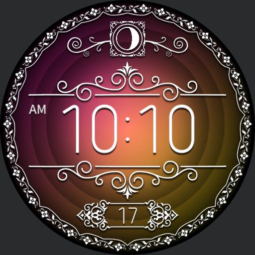 VINTAGE GRADIENT Watch Face