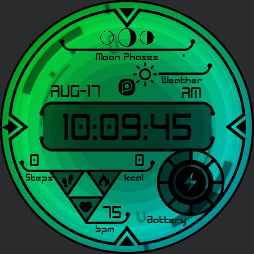 OBLIVE DARK 3 Watch Face