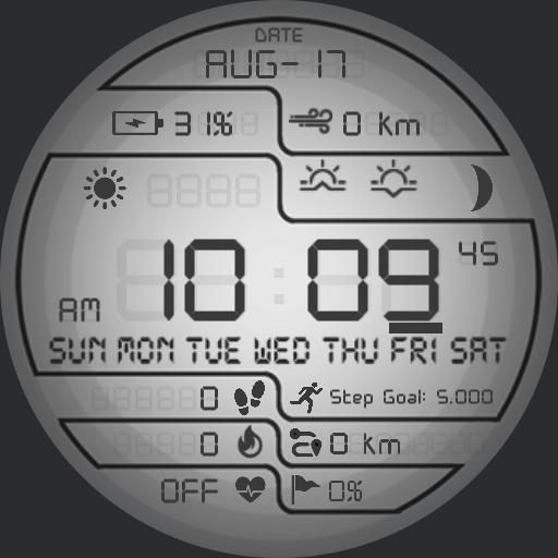 PRD DIGITAL 2 Watch Face
