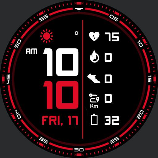 SECTOR 2 Watch Face