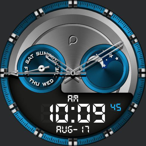 TIME COLOR Watch Face
