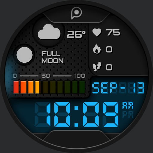 XTREME DIGITAL 3 Watch Face
