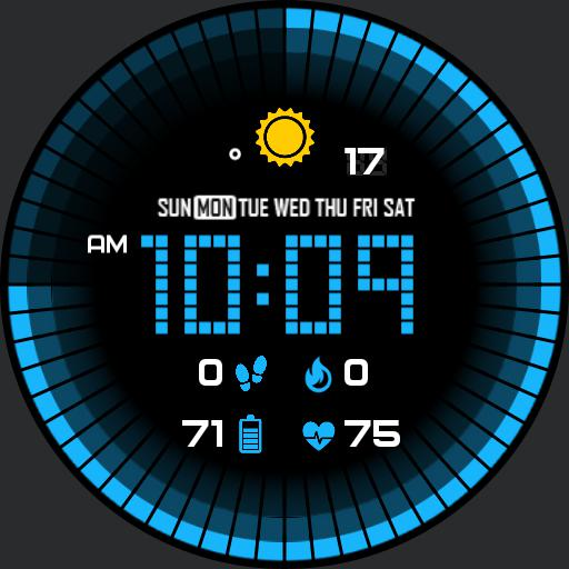 GRID COLORS Watch Face