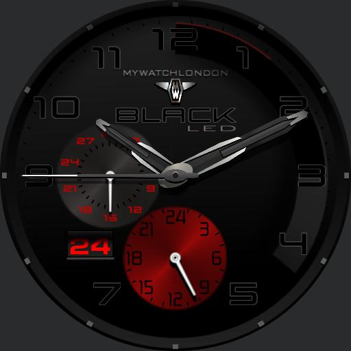 MYWATCH-BLACK LED