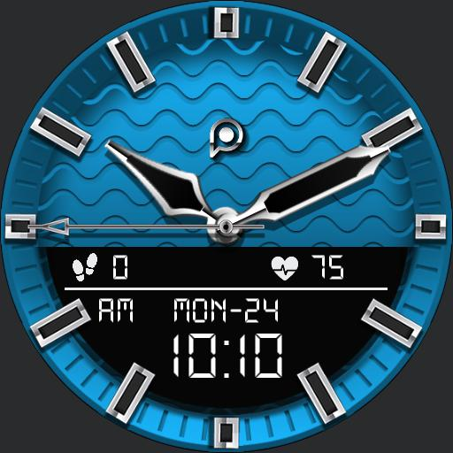 WAVES 3 Watch Face