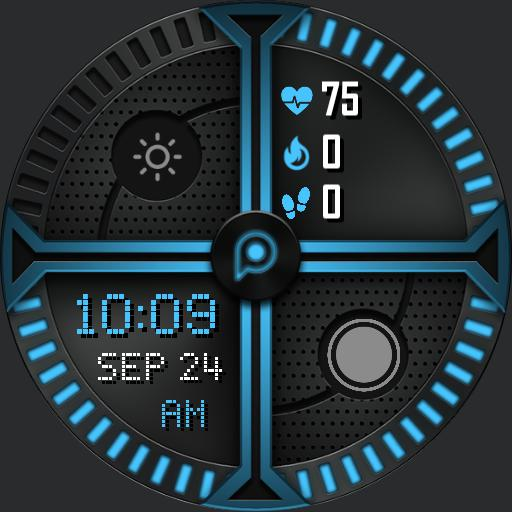 XSSED TECH Watch Face