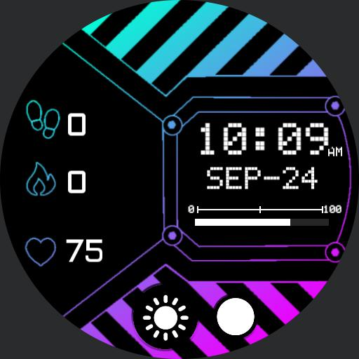 MORPH GRADIENT Watch Face