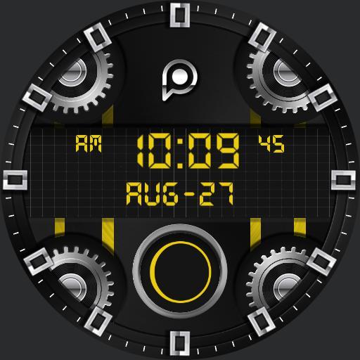 TEMPUS DIGITAL Watch Face