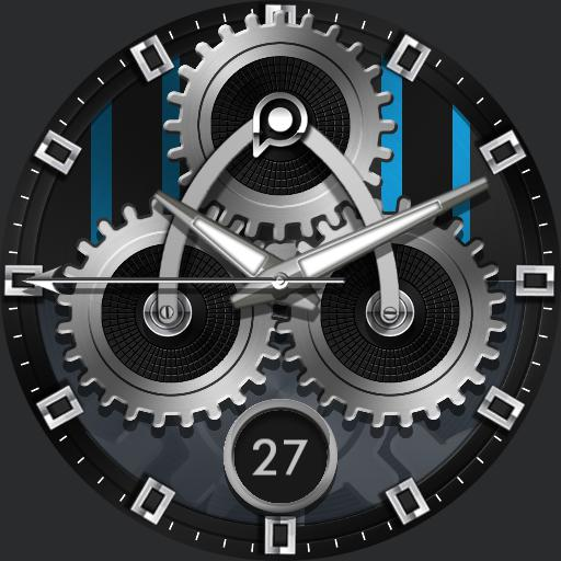 TIME GEARS Watch Face