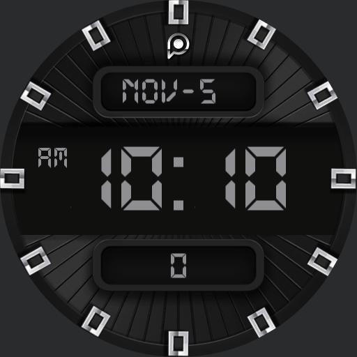 TIMELINE DIGITAL Watch Face