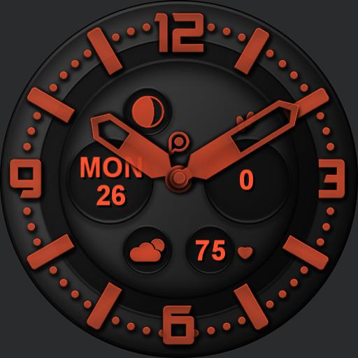 INFINITY DARK Watch Face