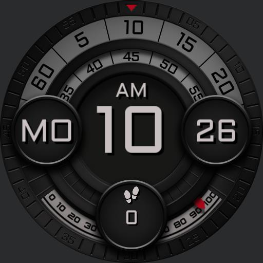 MECHANICAL ROTATION 2 Watch Face